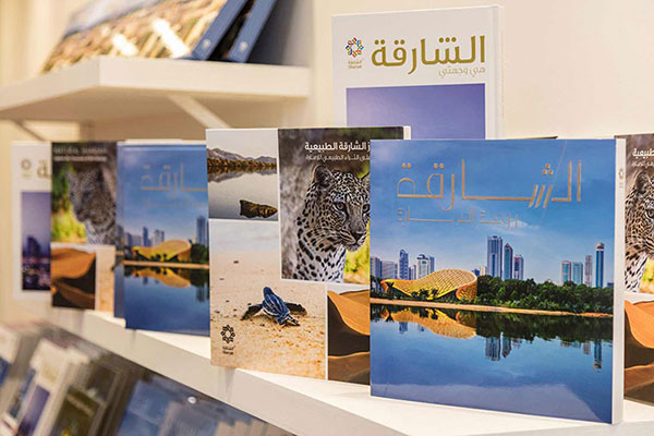 Sharjah Commerce and Tourism Development Authority (SCTDA) launches three new books.